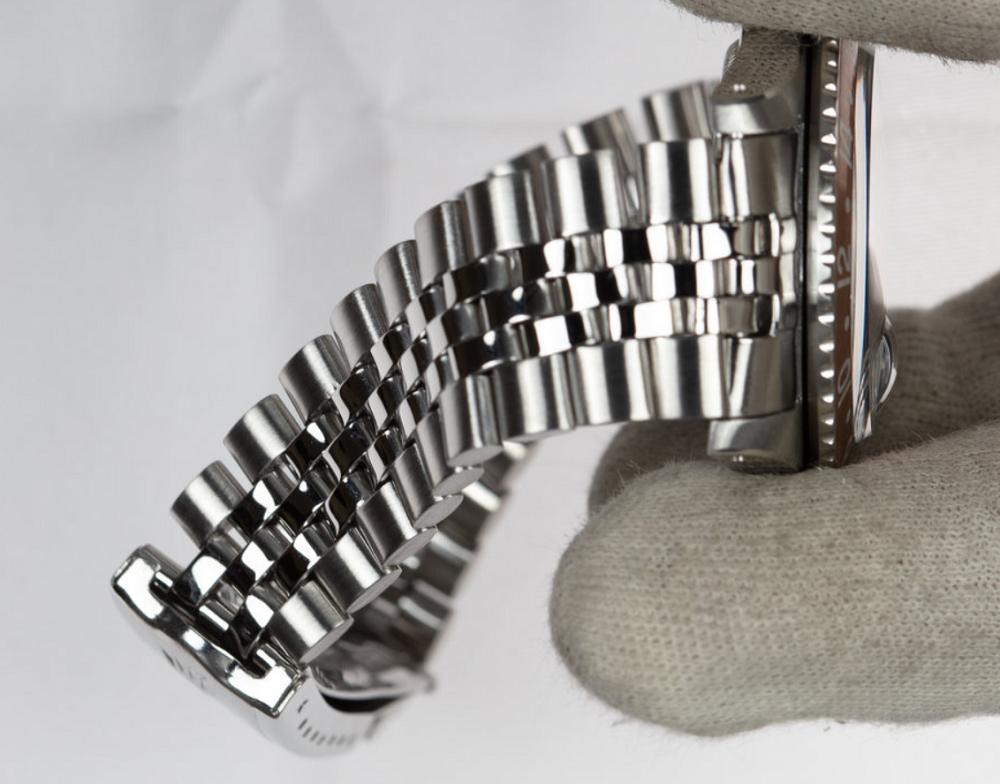 Dây đồng hồ Rolex Jubilee bị giãn