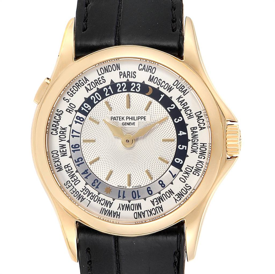 Patek Philippe World Time Complications Yellow Gold