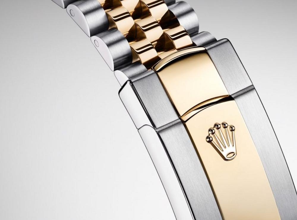 Phần khóa dây đồng hồ Rolex Jubilee
