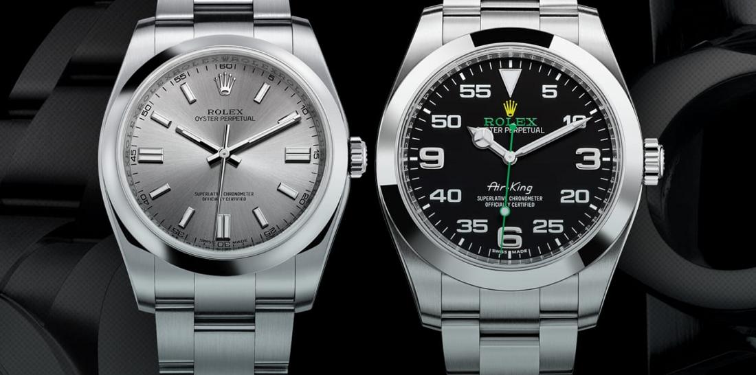 Tìm hiểu đồng hồ Rolex Air-King Mới so với Cũ