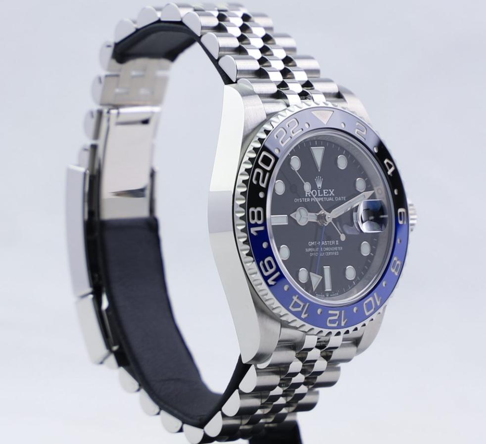 Dây đồng hồ Jubilee trang bị trên Rolex GMT-Master II Batman