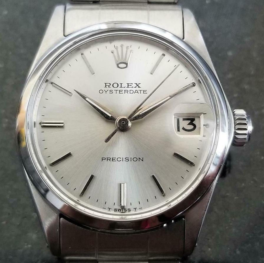 Rolex Oysterdate Precision 6646 Automatic