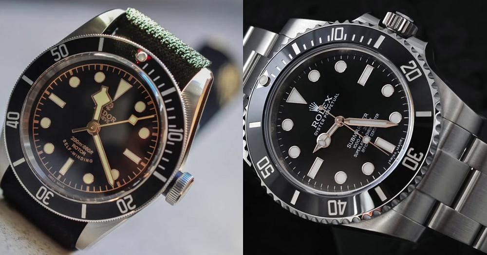 Đồng hồ Rolex Submariner và Tudor Submariner