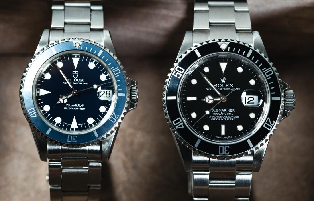 Sự khác biệt giữa đồng hồ Rolex và Tudor là gì?