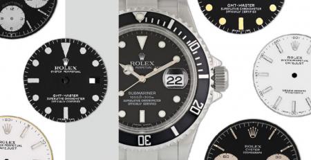 Tìm hiểu về các loại mặt số đồng hồ Rolex