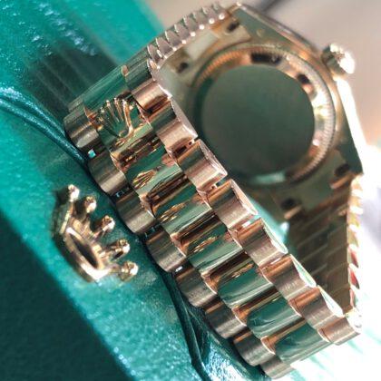 Rolex Lady-Datejust 179175 Meteorite Dial Everose Gold 18k