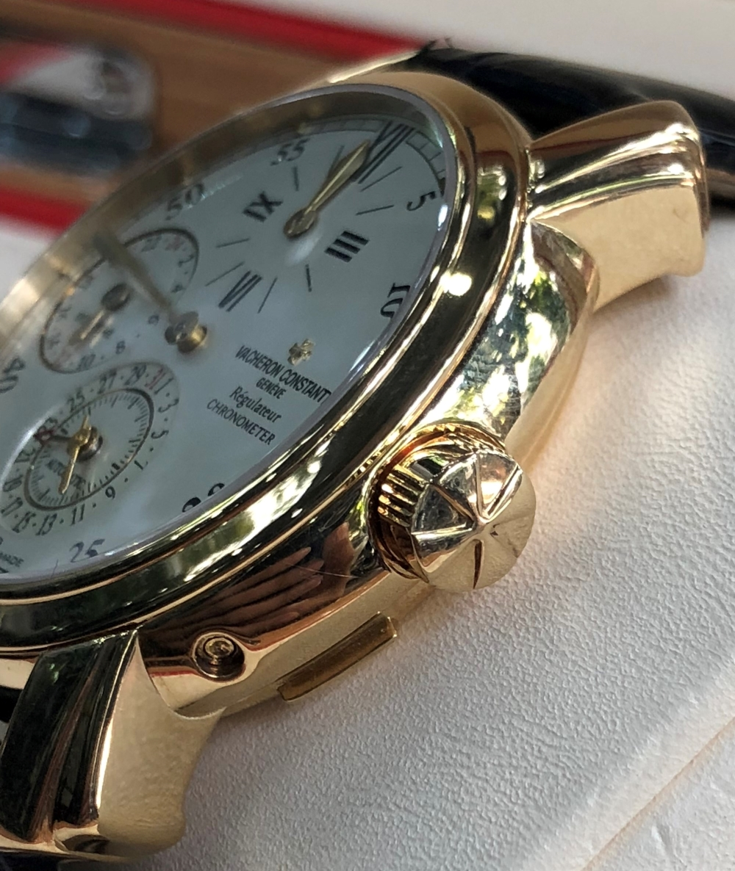 Vacheron Constantin Malte Dual Time Regulator 42005 Yellow Gold