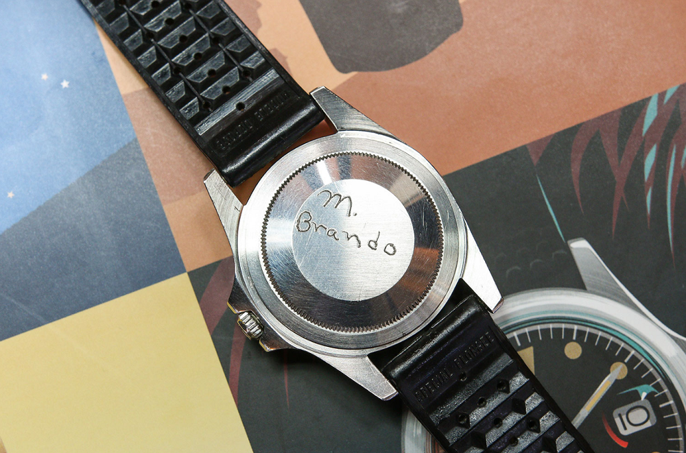 Marlon Brando Rolex GMT-Master 1675
