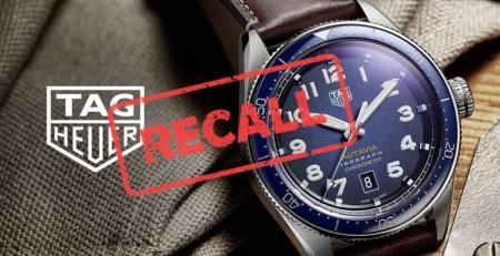 TAG Heuer thu hồi mẫu đồng hồ Isograph trên toàn thế giới