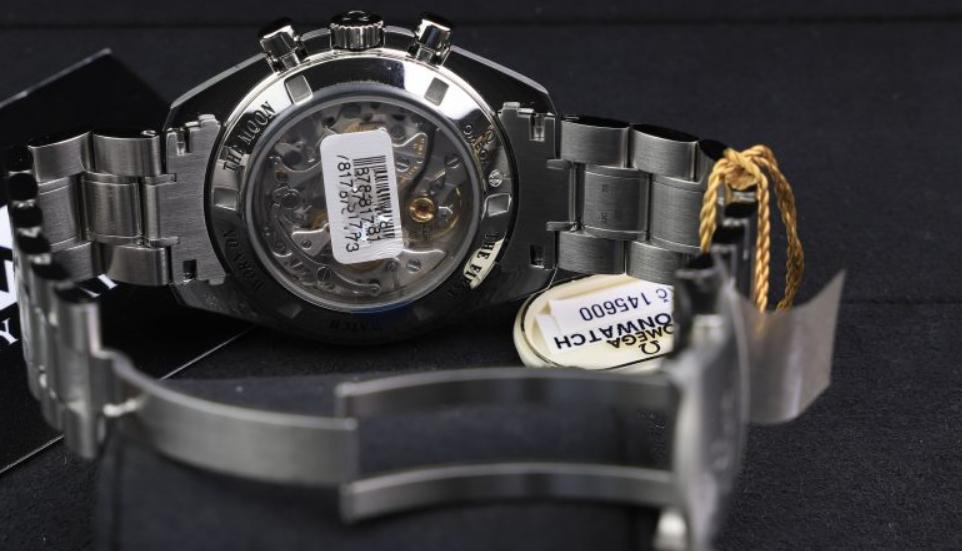 Serial Number ở mặt sau của đồng hồ