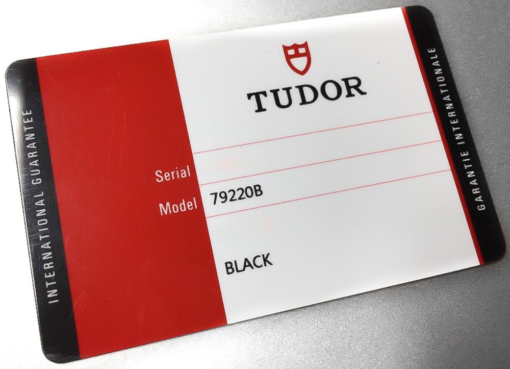 Thẻ bảo hành Tudor