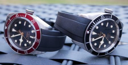 Dây đồng hồ cao su Everest sự thay thế hoàn hảo cho đồng hồ Tudor
