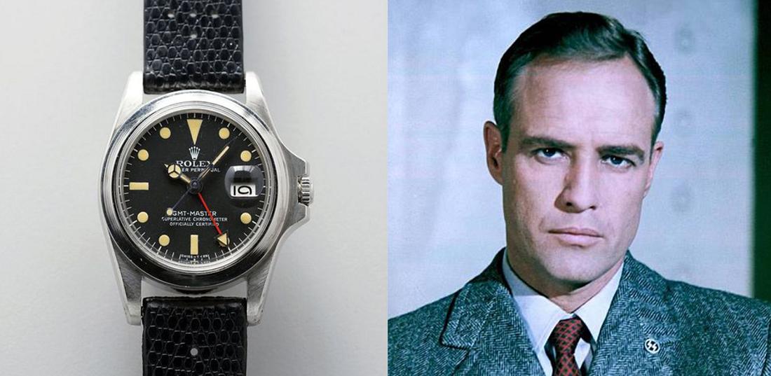 Rolex GMT-Master 1675 của Marlon Brando được bán với giá 1.95 triệu USD