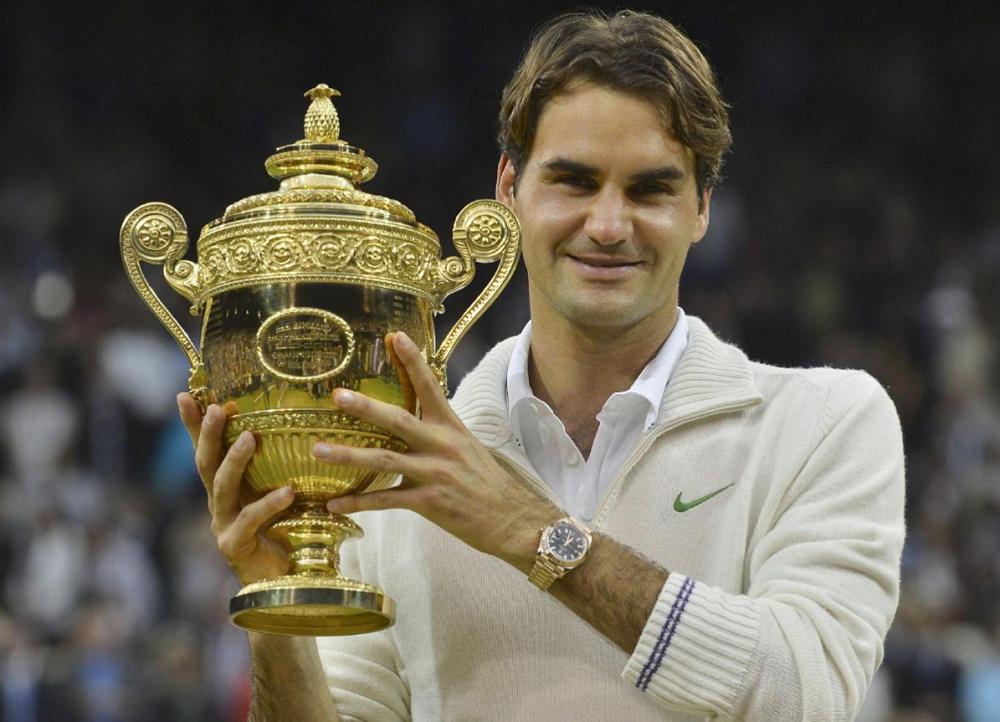 Federer vô địch Grand Slam năm 2018