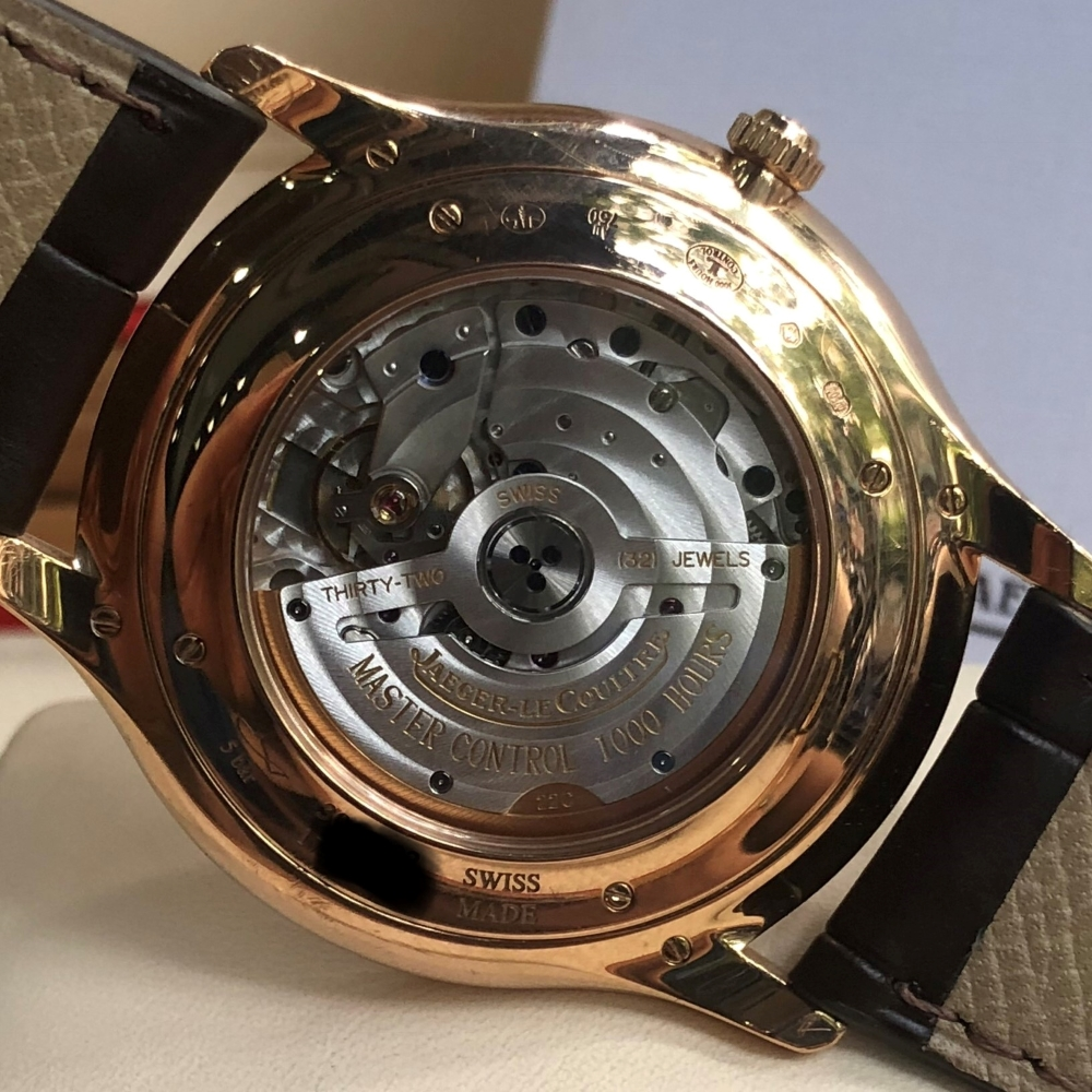 Jaeger-LeCoultre 1282510 Master Ultra Thin Date Pink Gold