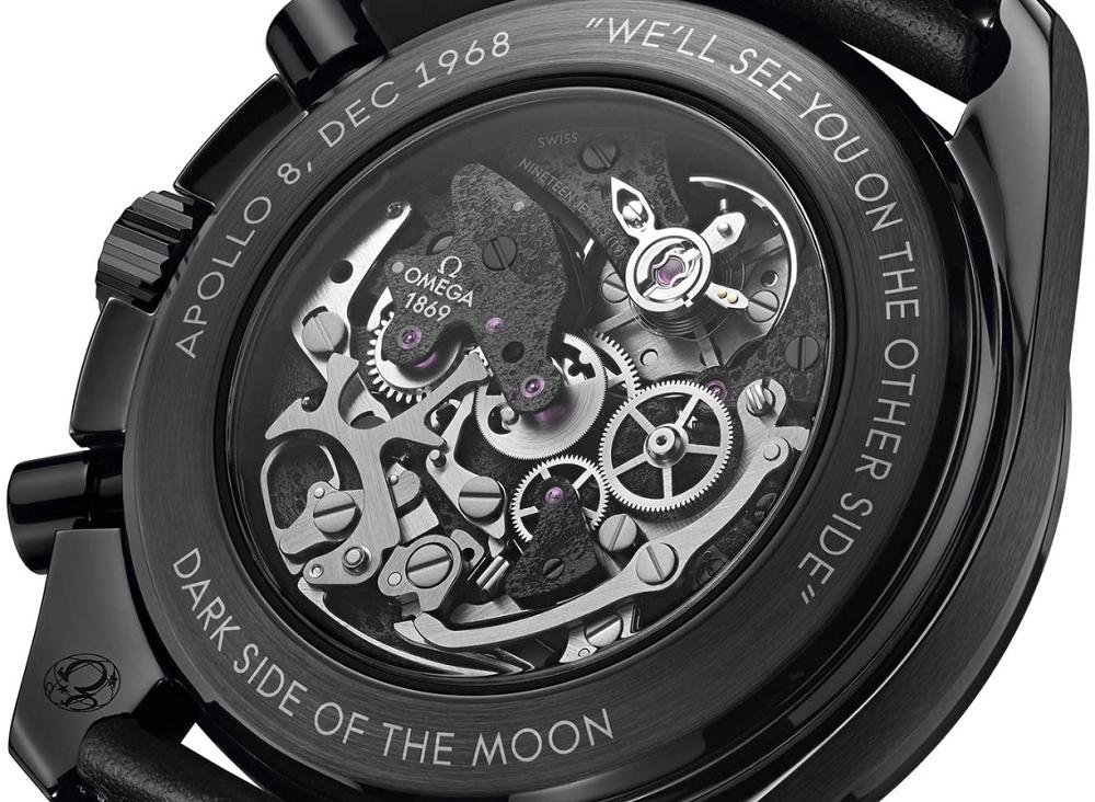 Omega Speedmaster Dark Side Of the Moon Apollo 8 Chronograph