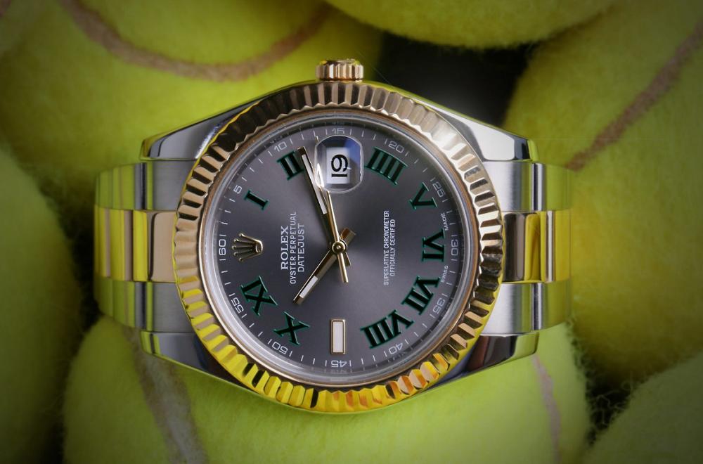 Rolex Datejust 41 Wimbledon 116333