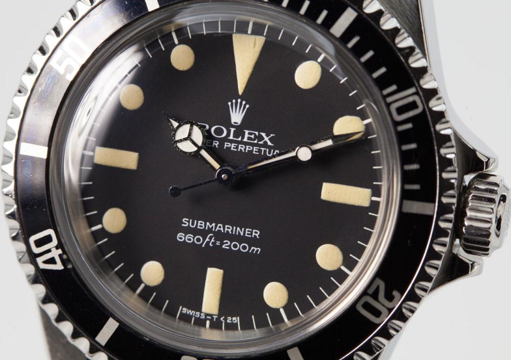 Rolex Submariner 5513 Maxi Dial 1981