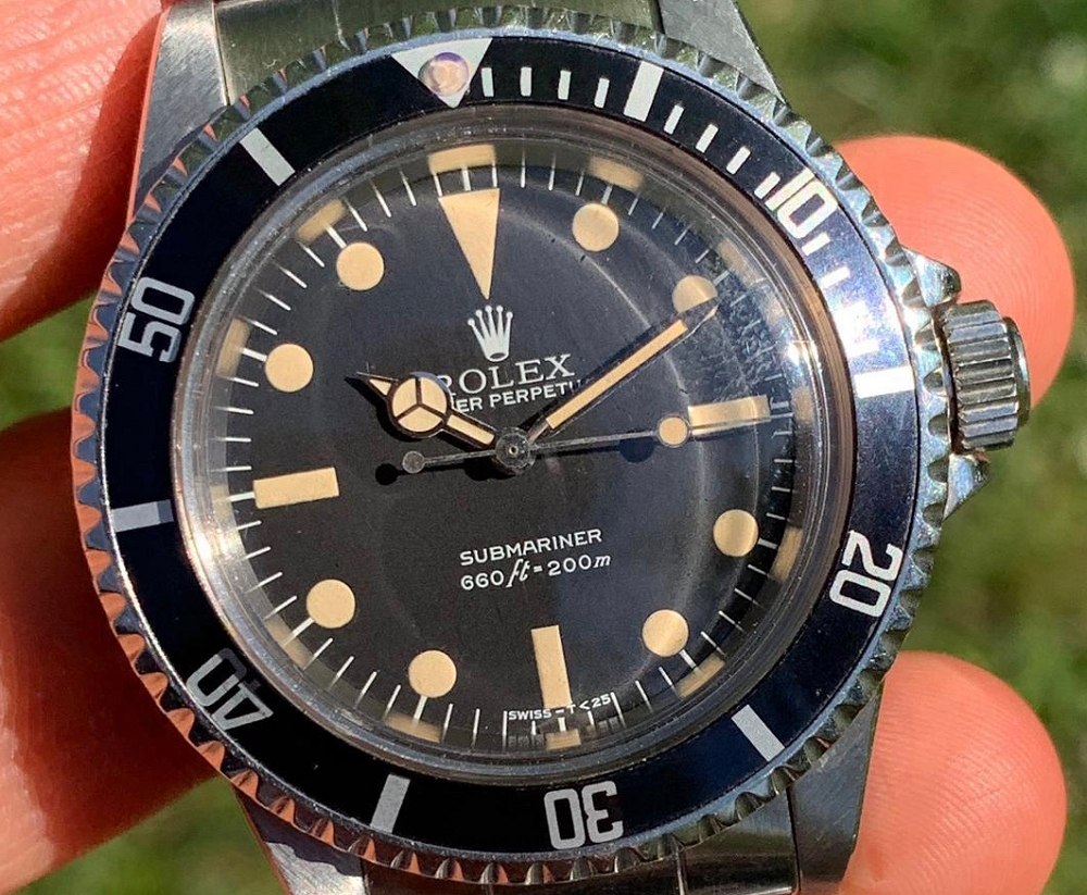 Rolex Submariner 5513 Maxi Dial 1978 Lollipop