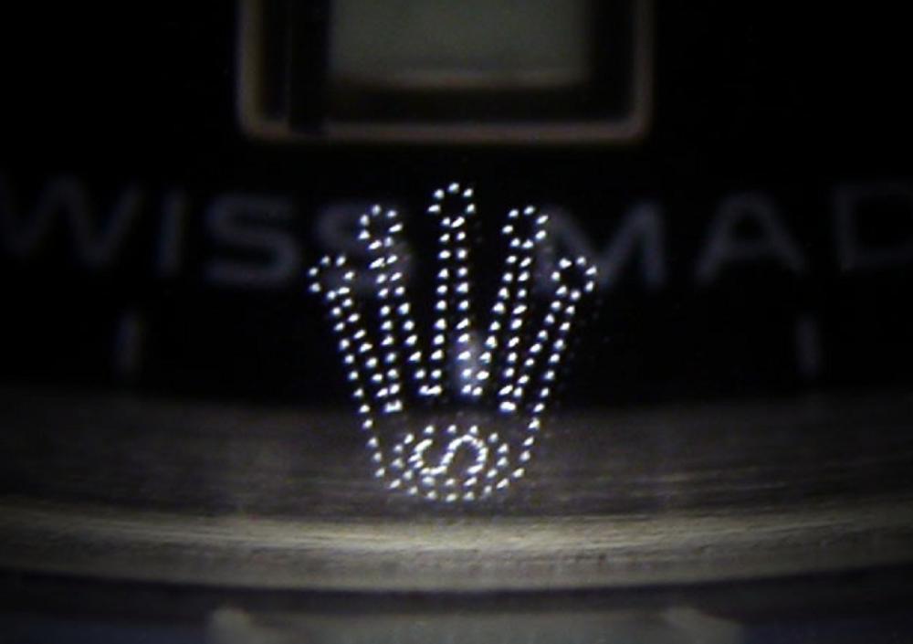 Mặt kính thay thế của Rolex có chữ S trong vương miện