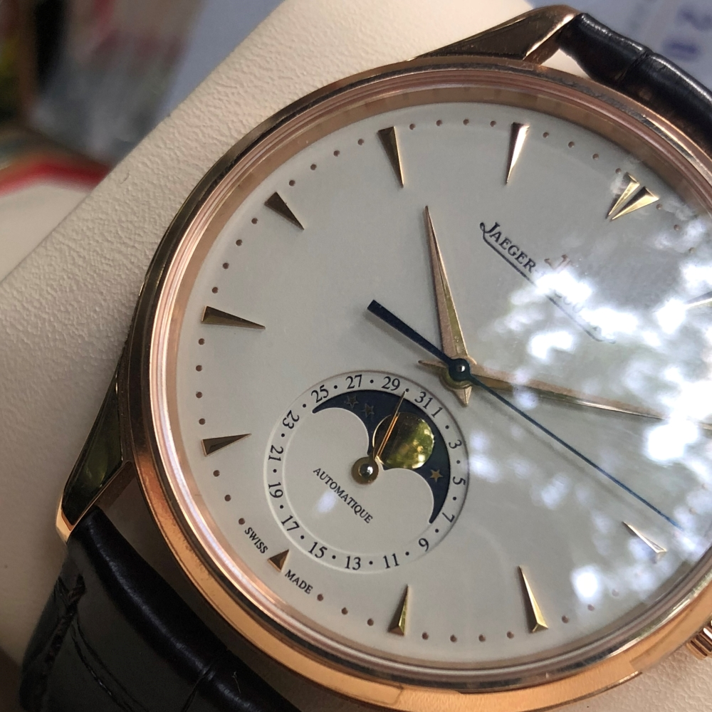 Jaeger-LeCoultre 1362520 Master Ultra Thin Moon Pink Gold Fullbox 2018