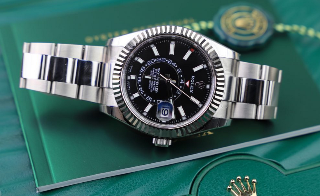 Khám phá mẫu đồng hồ Rolex Sky-Dweller phiên bản thép