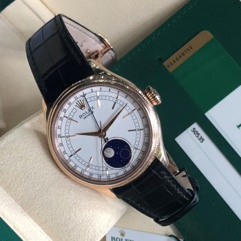 Rolex Cellini 50535 Automatic Moonphase Everose Gold 18k