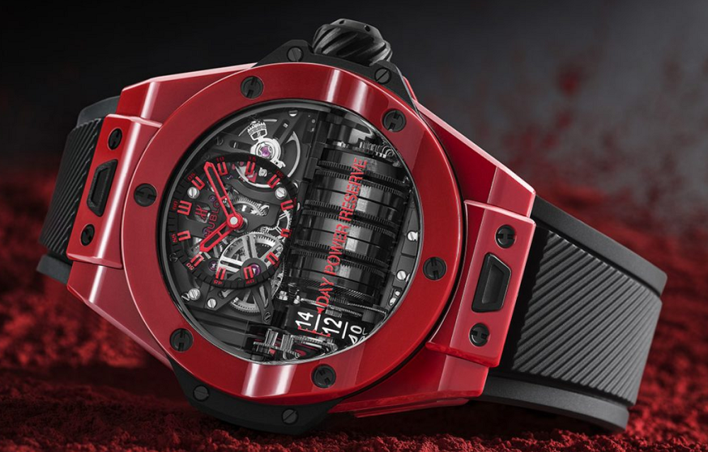 Đồng hồ Hublot Big Bang MP 11 Red Ceramic