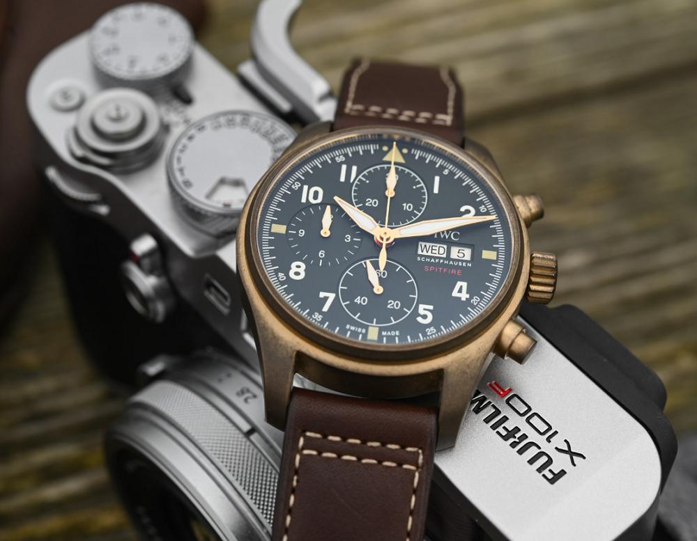 IWC Pilots Chronograph Spitfire Bronze IW387902