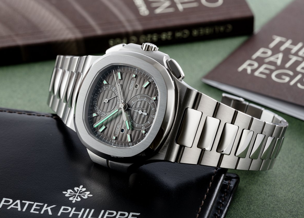 Patek Philippe 5990/1A-001 Nautilus Travel Time