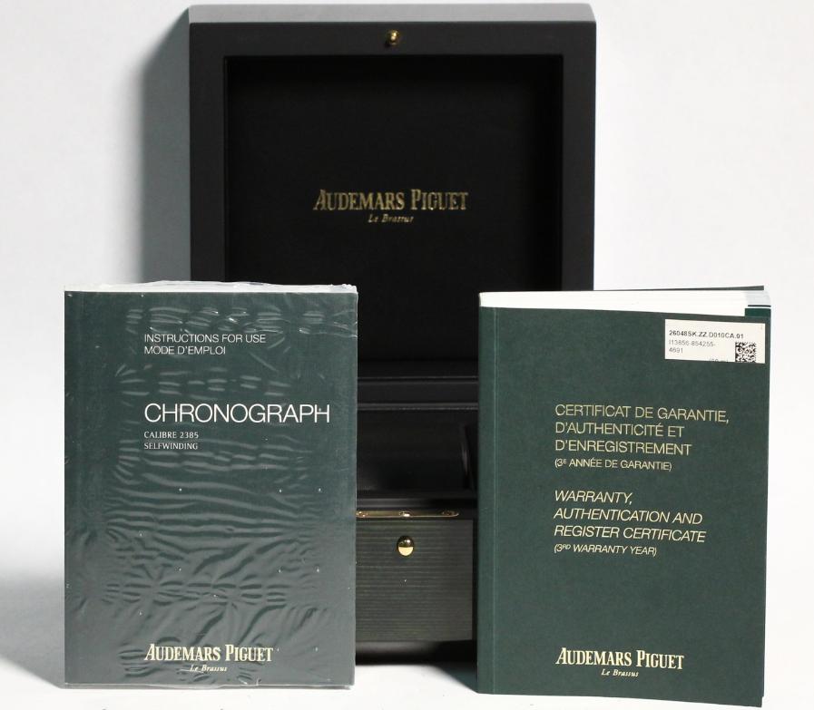 Sách về điều khoản bảo hành của Audemars Piguet