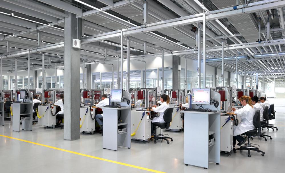 Nhà máy sản xuất đồng hồ tại Bienne