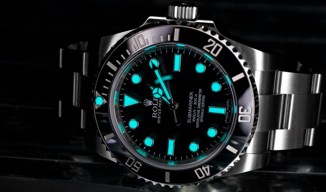 Vật liệu dạ quang Rolex (Rolex Lume)