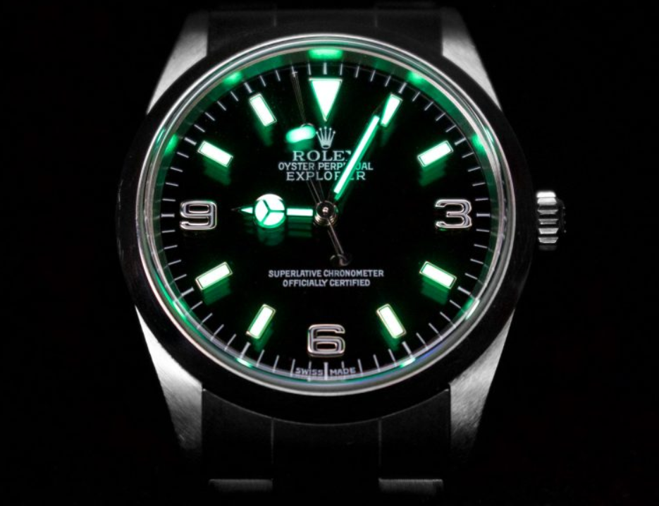 Rolex Luminova
