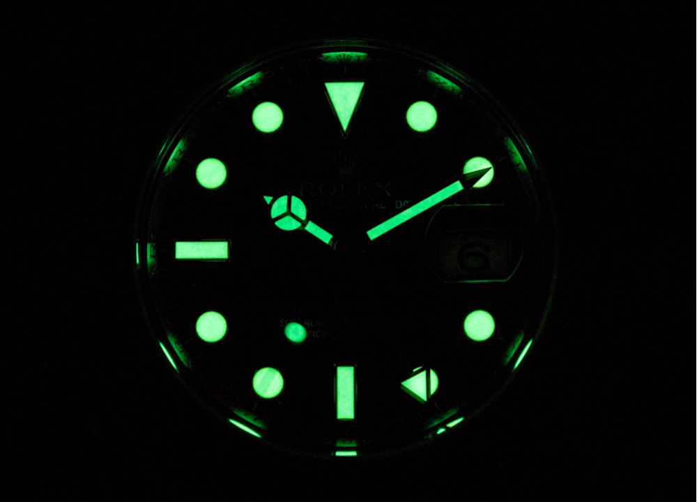 Rolex Super Luminova