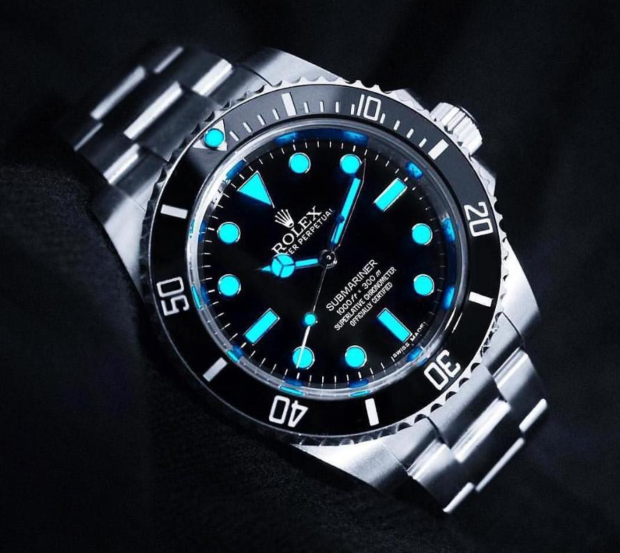 Vật liệu dạ quang đồng hồ Rolex