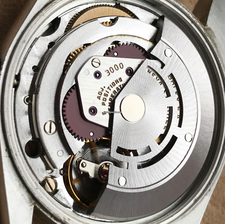 Bộ máy Rolex Calibre 3000