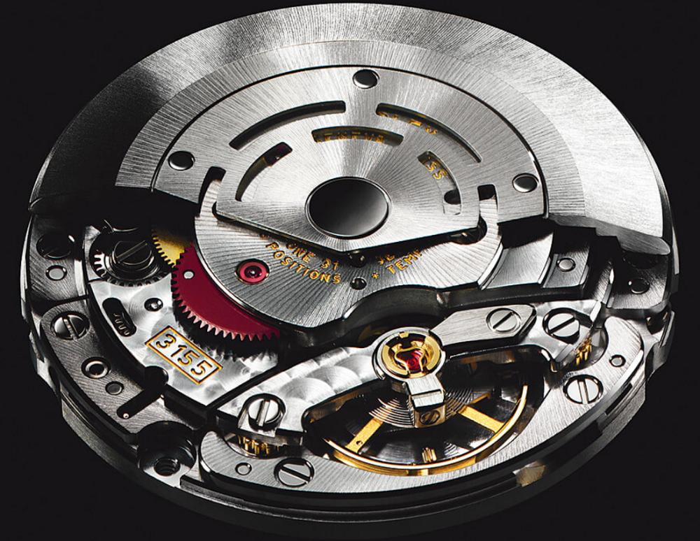 Bộ máy Rolex Calibre 3155