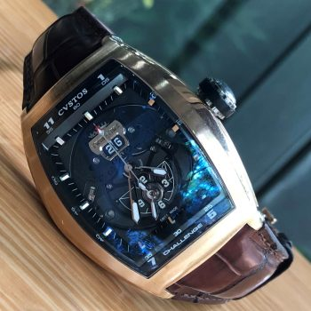 Cvstos Challenge Twin-Time CTT RGR Rose Gold 18k