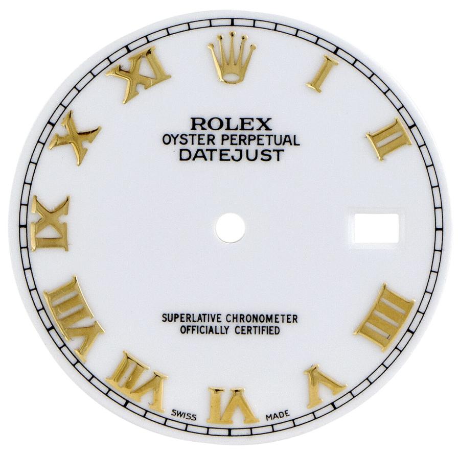 Mặt số Rolex Roman Numerals