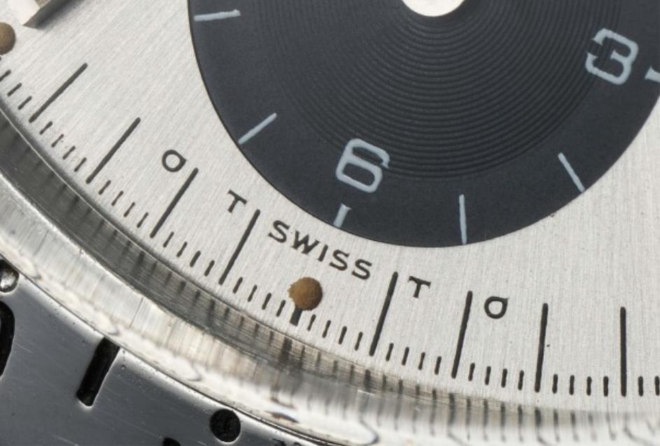 Mặt số Rolex Sigma Ký hiệu σT SWISS Tσ