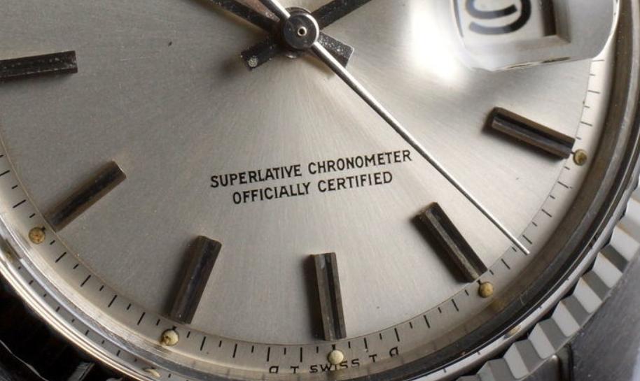 Mặt số Rolex Sigma trên Datejust