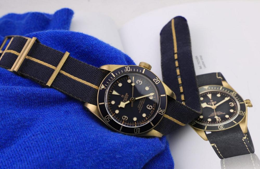 Tudor Black Bay Bronze Bucherer Edition reference 79250BB