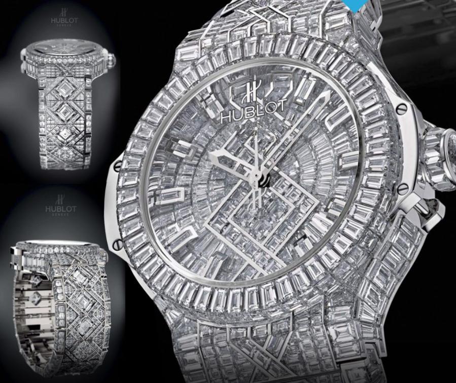 Hublot Big Bang Diamond – Giá: 5 triệu USD