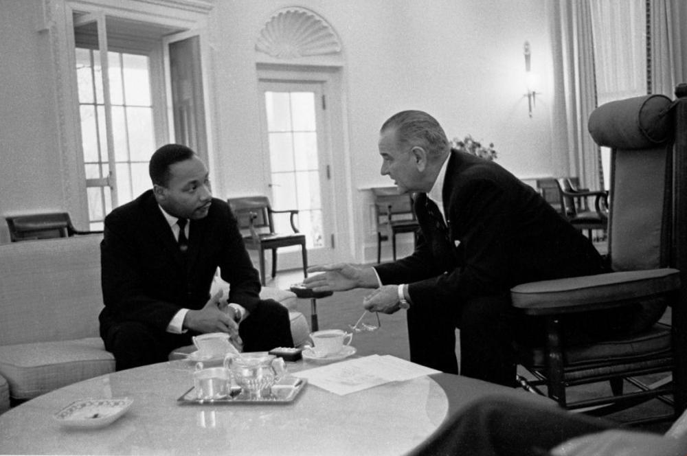 Tổng thống Lyndon B. Johnsone với Rolex Day-Date