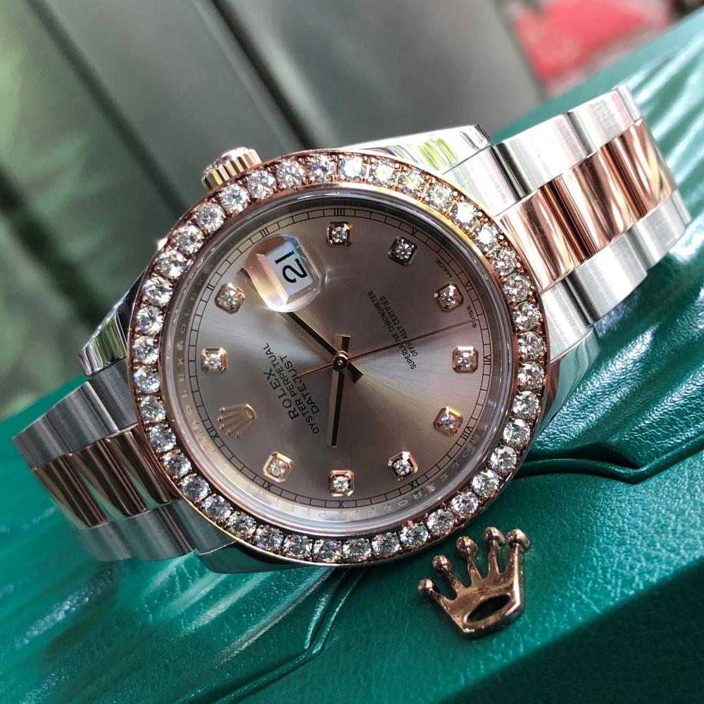 Rolex Datejust 126331 Pink Dial Everose Rolesor 18k