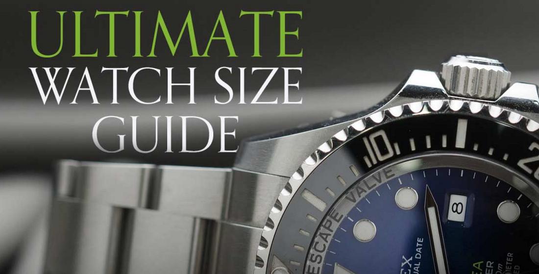 kích thước đồng hồ: Kích thước đồng hồ nào là tốt nhất cho bạn?