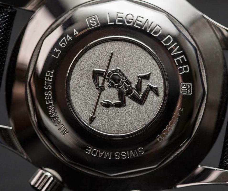 Vỏ Longines Legend Diver