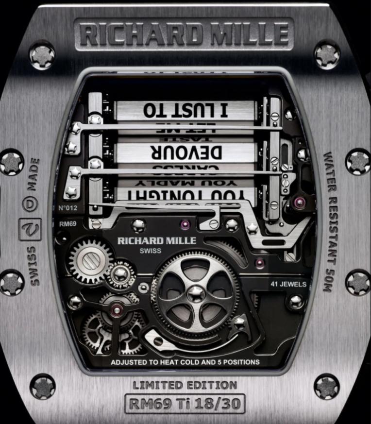 Bộ máy Richard Mille RM69