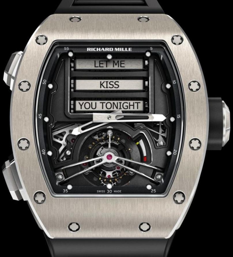 Đồng hồ khiêu dâm Richard Mille RM69